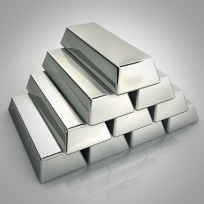 FROM PURE METAL INGOTS